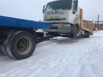 Эвакуация грузового транспорта методом частичной погрузки
