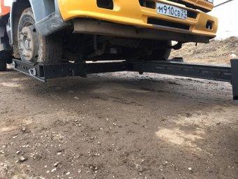 Эвакуация авто методом частичной погрузки