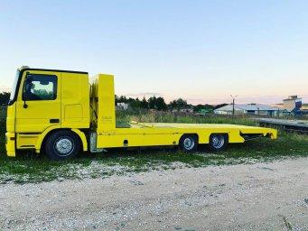 Эвакуаторы Mercedes Actros до 15 тонн